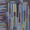Abstract Contemporary Textile Painting - Art Quilt - Structures #100 ©2011 Lisa Call