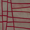 Abstract Contemporary Textile Painting - Art Quilt - Structures #112 ©2011 Lisa Call