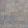 Abstract Contemporary Textile Painting - Art Quilt - Structures #47 ©2011 Lisa Call